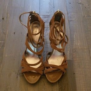 Guess Strappy High Heel Shoes